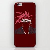 bleach iPhone & iPod Skins featuring renji abarai bleach by Rebecca McGoran