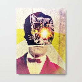 Gentleman Fox Metal Print