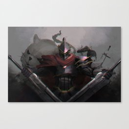 Overlord Momon Canvas Print