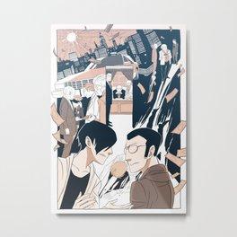 Page Forty-Nine (Print) Metal Print