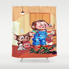 Death Of A Gremblin Shower Curtain