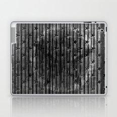 Black Stars & Black Stripes Laptop & iPad Skin
