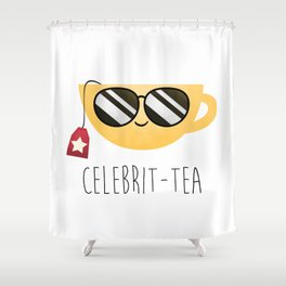 Celebrit-tea Shower Curtain