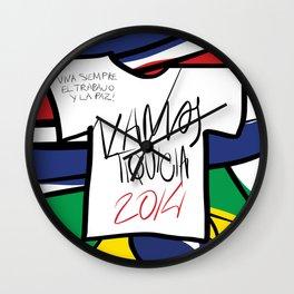 VAMOS TIQUICIA  Wall Clock