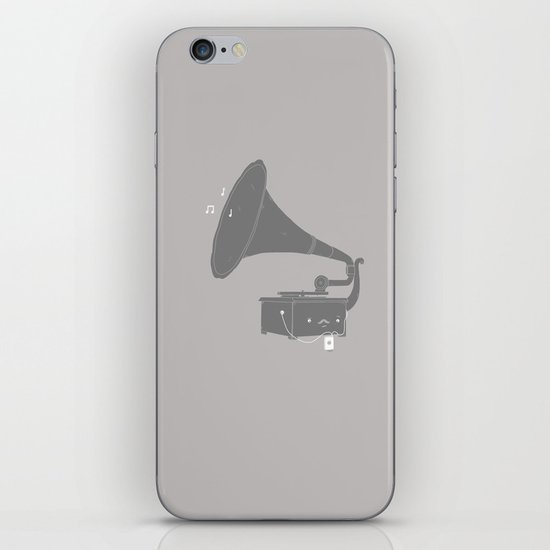 Get with the times iPhone & iPod Skin