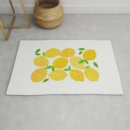 Lemon Crowd Rug