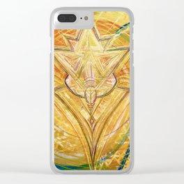 Tri~Monics of Gabriel Clear iPhone Case