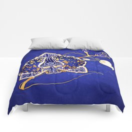 Egyptian Blue :: Orchid Comforters