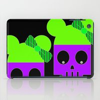 minnie iPad Cases featuring MINNIE SKULL by Riot Clothing
