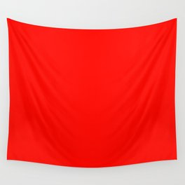 color candy apple red Wall Tapestry