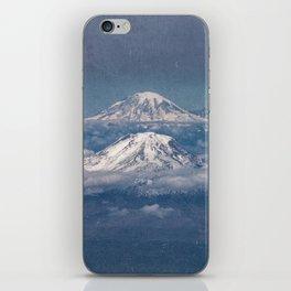 Mount Adams Mt Rainier - PNW Mountains iPhone Skin