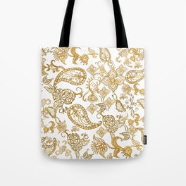 India henna pattern Tote Bag