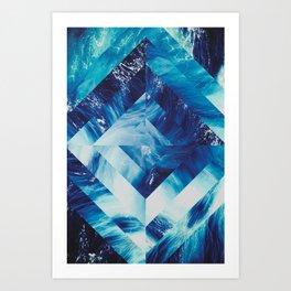 Spatial #1 Art Print