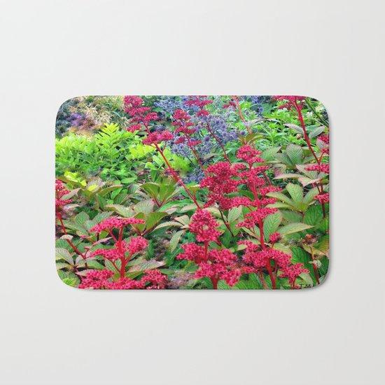 Flower Burst | Flower Garden | Flowers Bath Mat