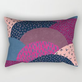 Circle Valley Rectangular Pillow