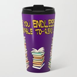 Endless to-read List Travel Mug