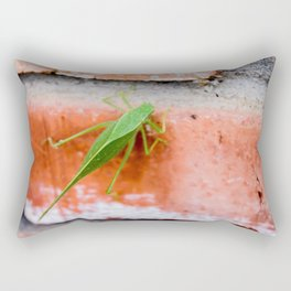 Leaf Bug Rectangular Pillow