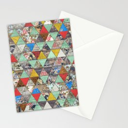 Rustic Geometry 1 Stationery Cards