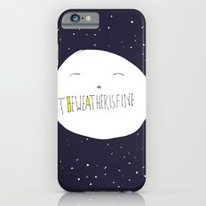 bright side of the moon  iPhone 6s Slim Case