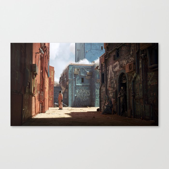 6088AD Canvas Print