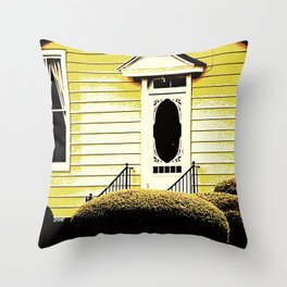 Front Door 927 Throw Pillow