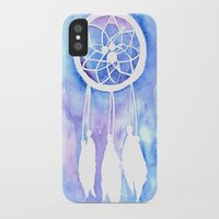 dream catcher iPhone & iPod Cases featuring Dream Catcher by Robin Ewers