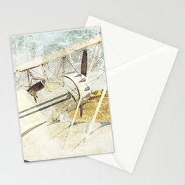 Flight of Fancy // Antique Airplanes Stationery Cards