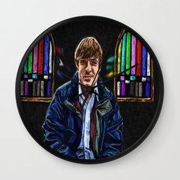John Maus: Knight of Faith Wall Clock