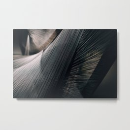Mod Lines Metal Print