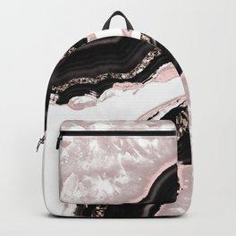 Agate Glitter Glam #4 #gem #decor #art #society6 Backpack