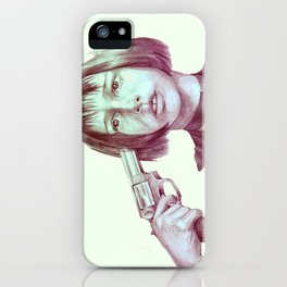 leon - mathilda  iPhone Case