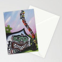 Mungo Martin House Stationery Cards
