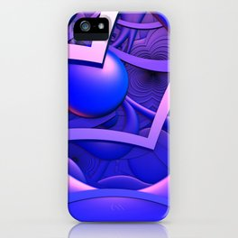 Just Watching the World Go By iPhone Case