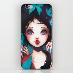 Nachtfalter iPhone & iPod Skin