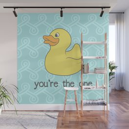 Rubber Duckie Wall Mural