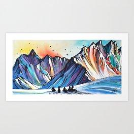 Wolfpack Art Print