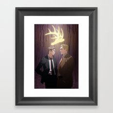 The King in Yellow (True Detective) Framed Art Print