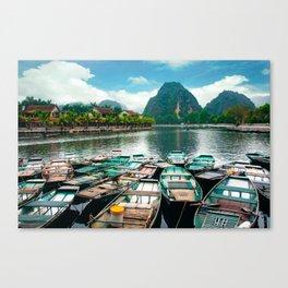 Tam Coc Vietnam Canvas Print