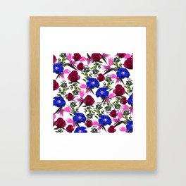 Fragrant Florals Framed Art Print
