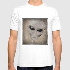 Alien Mens Fitted Tee White MEDIUM