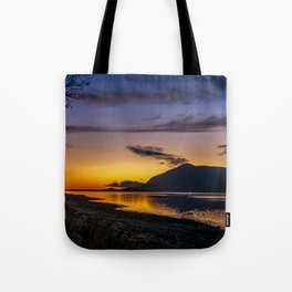 The Blue Hour over Loch Linnhe - Scottish Highlands Tote Bag