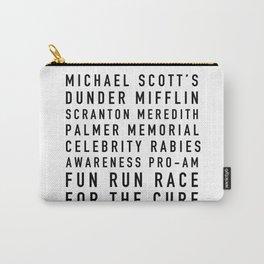 Michael Scott's Fun Run - the Office Carry-All Pouch