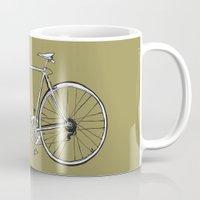 bike Mugs featuring bike by muffa