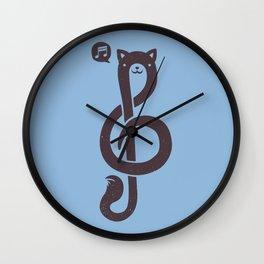 Musicat Wall Clock