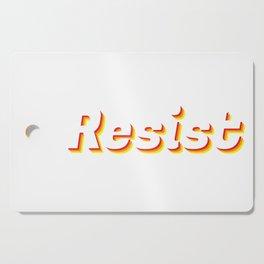 Resist Cutting Board
