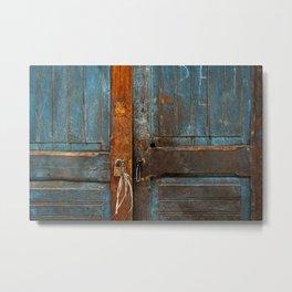 Doors I Metal Print