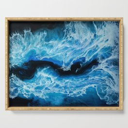 Electric Sea Serving Tray