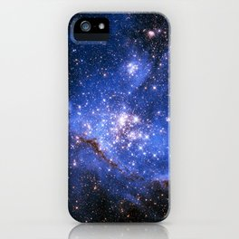 Blue Embrionic Stars iPhone Case