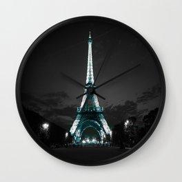 parIS Aqua & Slate Wall Clock