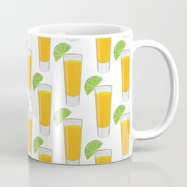 Tequila Shot Pattern Coffee Mug